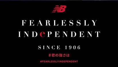 NB RUNNING FEARLESSLY INDEPENDENT