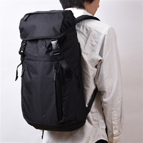 (NB公式アウトレット)【50%OFF】 ユニセックス SAC'S BAR×New Balance RIP STOP カジュアルバックパック (ブラック) バッグ 鞄 リュックサック/デイパック ニューバランス newbalance セール