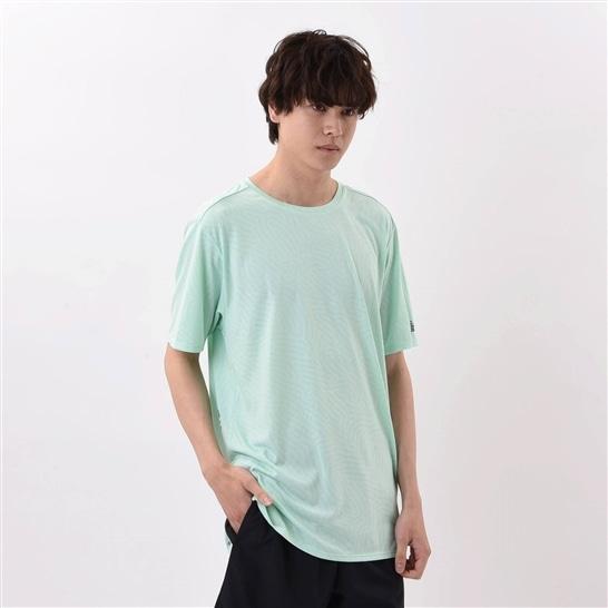 (NB公式アウトレット)【50%OFF】 メンズ Q SPEED ジャガードショートスリーブTシャツ (NMH ネオミントヘザー) ランニング スポーツウェア / トップス シャツ ランシャツ ニューバランス newbalance セール