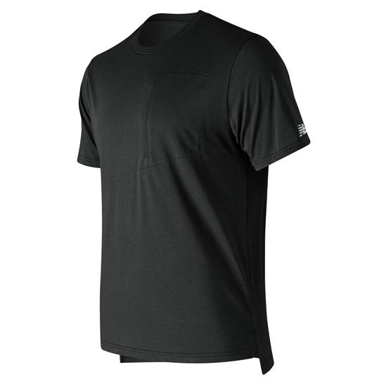 (NB公式アウトレット)【60%OFF】 ユニセックス スポーツスタイルポケットTシャツ (ブラック) ライフスタイル ウェア / トップス ニューバランス newbalance セール