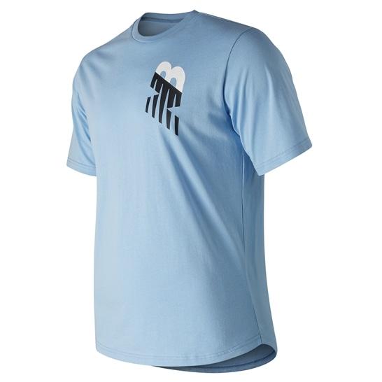(NB公式アウトレット)【60%OFF】 ユニセックス NBアスレチックヴァートTシャツ (ブルー) ライフスタイル ウェア / トップス ニューバランス newbalance セール