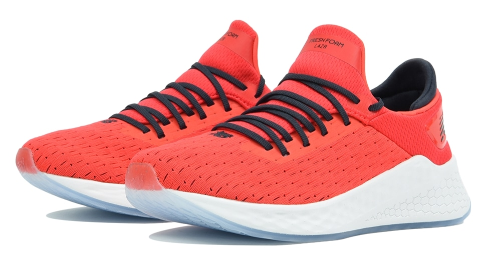 (NB公式アウトレット)【60%OFF】 キッズ FRESH FOAM LAZR GRADE LD (レッド) ランニングシューズ 靴 ニューバランス newbalance セール