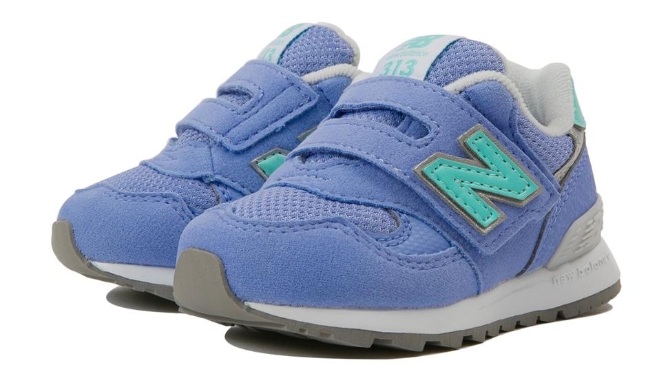(NB公式アウトレット)【40%OFF】 キッズ IO313 LC (パープル) スニーカー シューズ 靴 ニューバランス newbalance セール