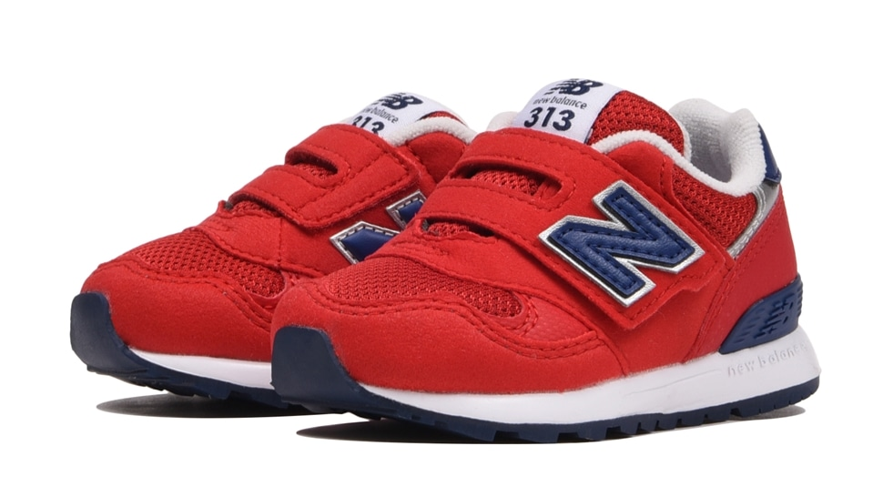(NB公式アウトレット)【30%OFF】 キッズ IO313 RN (レッド) スニーカー シューズ 靴 ニューバランス newbalance セール