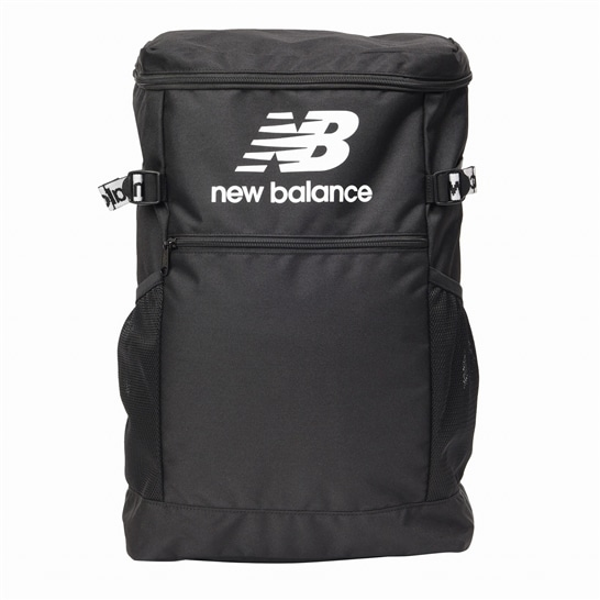 (NB公式アウトレット)【30%OFF】 ユニセックス ロゴスクエアバッグパック (ブラック) バッグ 鞄 ニューバランス newbalance セール