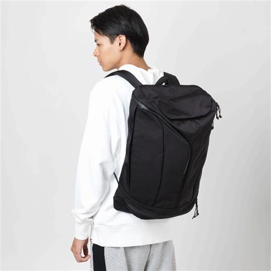 (NB公式アウトレット)【30%OFF】 ユニセックス トップローディングバックパック2 30L (ブラック) バッグ 鞄 リュックサック/デイパック ニューバランス newbalance セール
