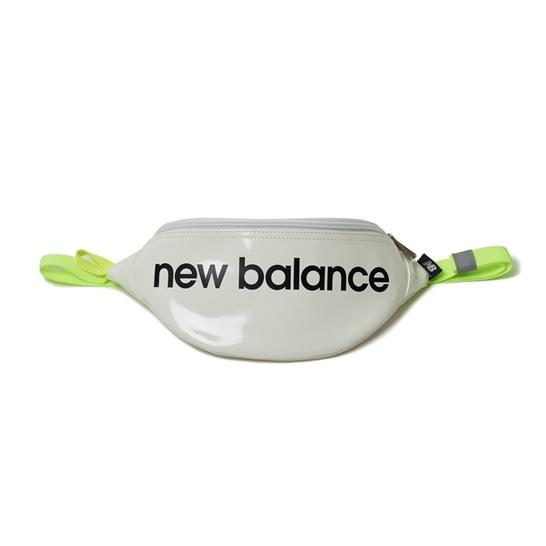 (NB公式アウトレット)【30%OFF】 ユニセックス エナメルウエストポーチ (イエロー) バッグ 鞄 ニューバランス newbalance セール