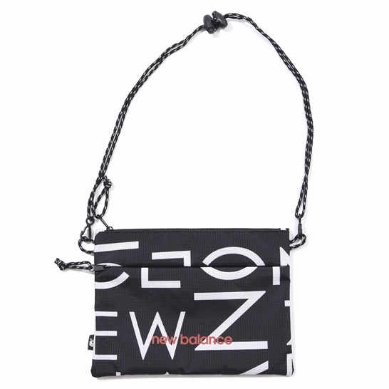 (NB公式アウトレット)【30%OFF】 ユニセックス サコッシュ (ブラック) バッグ 鞄 ニューバランス newbalance セール
