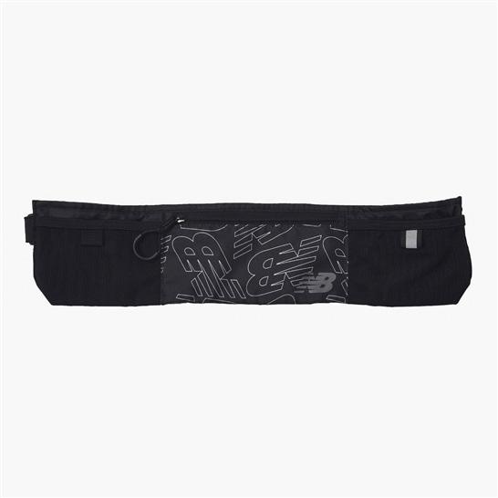 (NB公式アウトレット)【30%OFF】 ユニセックス ランニングウエストポーチ (ブラック) バッグ 鞄 ニューバランス newbalance セール