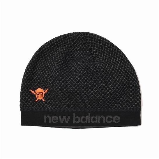 (NB公式アウトレット)【30%OFF】 メンズ NB HANZO ビーニー (ブラック) 帽子 キャップ ハット/グローブ ニューバランス newbalance セール