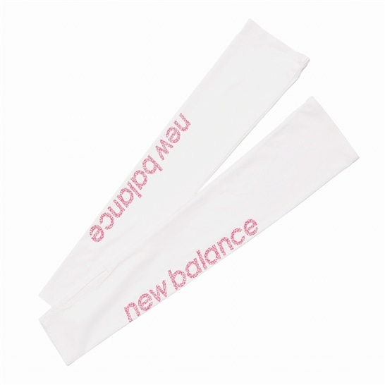 (NB公式アウトレット)【30%OFF】 ウイメンズ SAKURA ストレッチアームカバー (ホワイト) ニューバランス newbalance セール