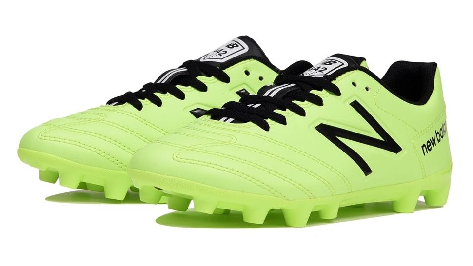 (NB公式アウトレット)【59%OFF】 キッズ 442 TEAM JNR HG LM1 (グリーン) サッカーシューズ スパイク 靴 ニューバランス newbalance セール