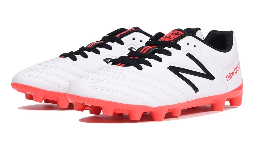 (NB公式アウトレット)【59%OFF】 キッズ 442 TEAM JNR HG RW1 (ホワイト) サッカーシューズ スパイク 靴 ニューバランス newbalance セール