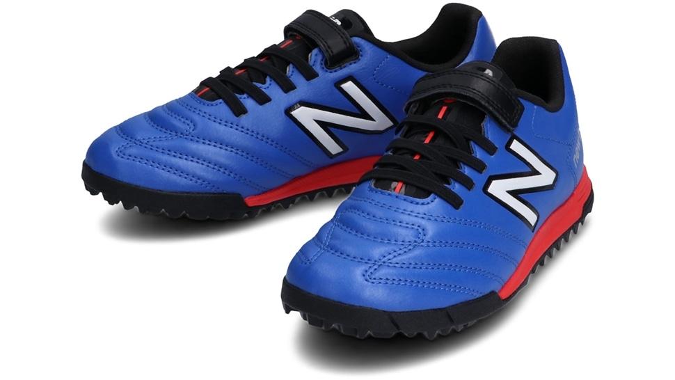 (NB公式アウトレット)【30%OFF】 キッズ 442 JNR V TF CO1 (COBALT/WHITE) サッカー トレーニング・ターフシューズ 靴 ニューバランス newbalance セール