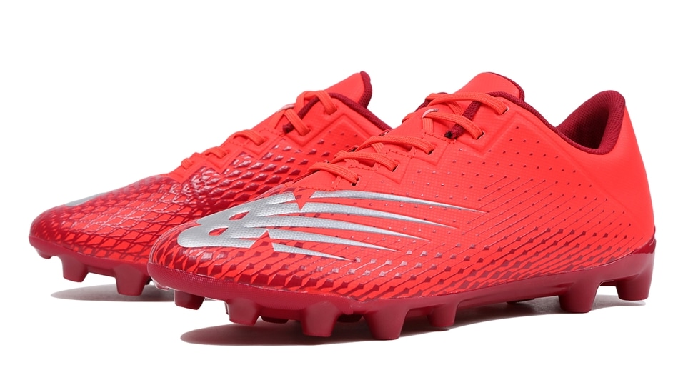 (NB公式アウトレット)【50%OFF】 キッズ FURON JNR HG FC6 (FLAME) サッカーシューズ スパイク 靴 ニューバランス newbalance セール