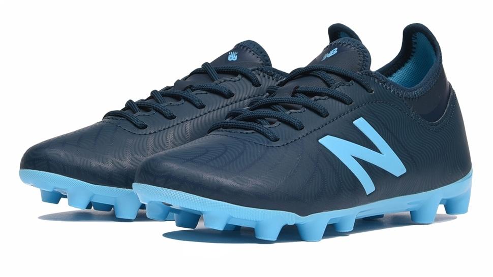 (NB公式アウトレット)【63%OFF】 キッズ TEKELA MAGIQUE JNR HG SB2 (ブルー) サッカーシューズ スパイク 靴 ニューバランス newbalance セール