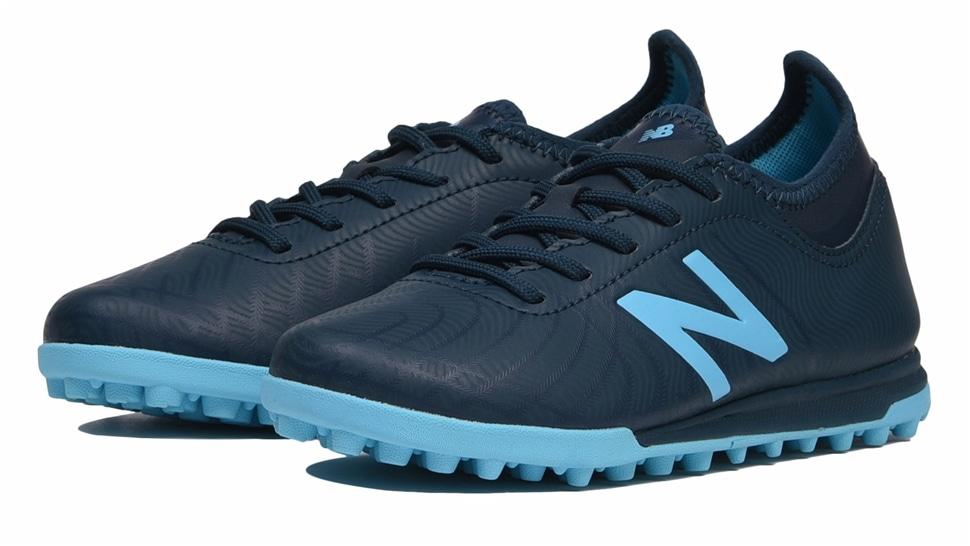 (NB公式アウトレット)【60%OFF】 キッズ TEKELA MAGIAQUE JNR TF SB2 (ブルー) サッカー トレーニング・ターフシューズ 靴 ニューバランス newbalance セール