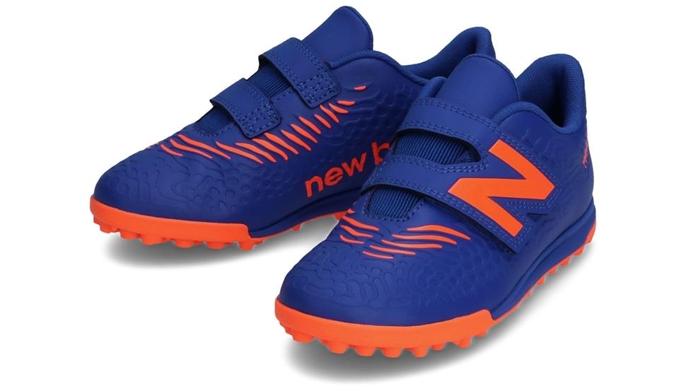 (NB公式アウトレット)【30%OFF】 キッズ TEKELA JNR V TF BG3 (COBALT/ORANGE) サッカー トレーニング・ターフシューズ 靴 ニューバランス newbalance セール