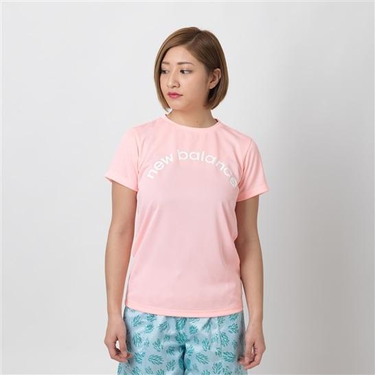 (NB公式アウトレット)【60%OFF】 ウイメンズ Nergize Tシャツ (ピンク) トレーニング スポーツウェア / トップス ニューバランス newbalance セール