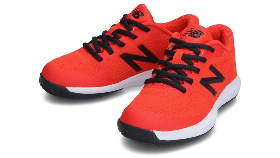 (NB公式アウトレット)【30%OFF】 キッズ KC996 R4 (レッド) テニス オールコート用シューズ 靴 ニューバランス newbalance セール