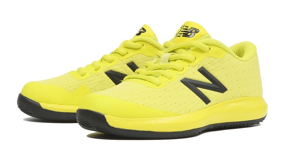 (NB公式アウトレット)【40%OFF】 キッズ KC996 SY4 (イエロー) テニス オールコート用シューズ 靴 ニューバランス newbalance セール