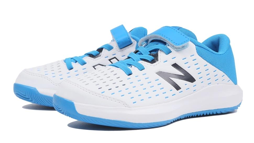 (NB公式アウトレット)【30%OFF】 キッズ KCV696V4 R4 (ホワイト) テニス オールコート用シューズ 靴 ニューバランス newbalance セール