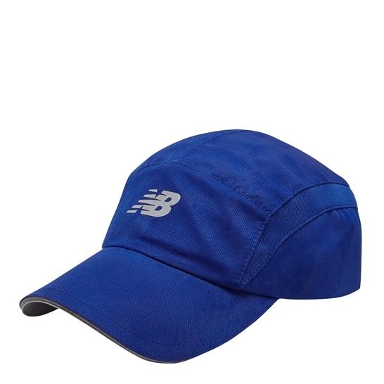 (NB公式アウトレット)【30%OFF】 ユニセックス 5パネルパフォーマンスキャップ v3 (ブルー) 帽子 キャップ ハット/グローブ ニューバランス newbalance セール