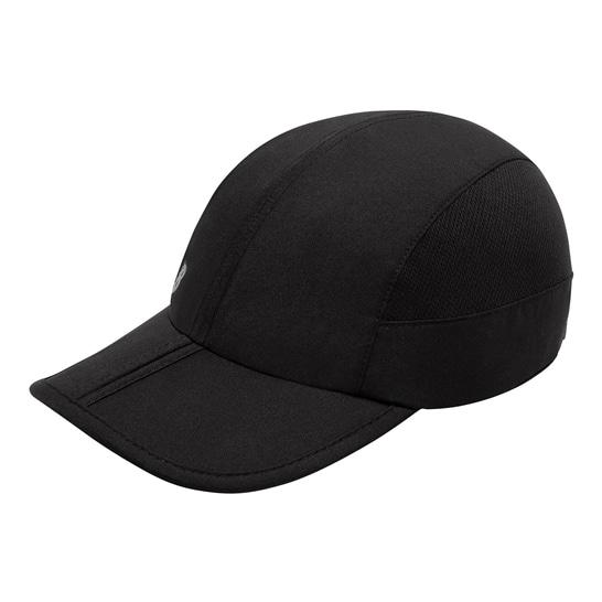 (NB公式アウトレット)【30%OFF】 ユニセックス パッカブルランキャップ (ブラック) 帽子 キャップ ハット/グローブ ニューバランス newbalance セール
