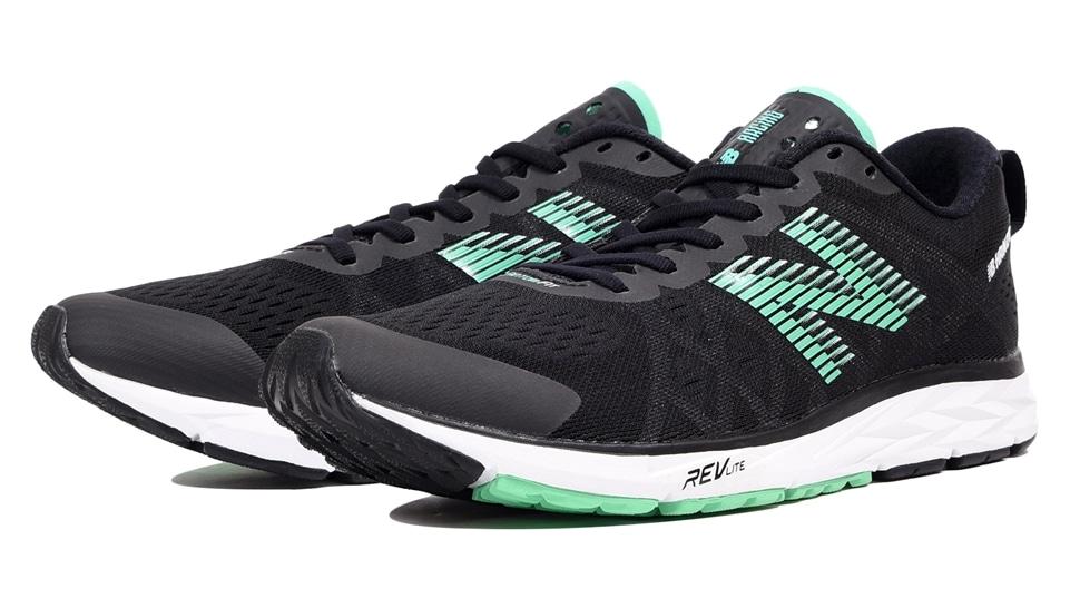 (NB公式アウトレット)【60%OFF】 メンズ NB HANZO C M GC4 (ブラック) ランニングシューズ 靴 ニューバランス newbalance セール