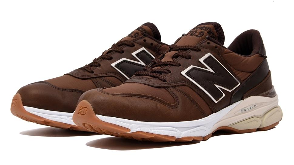 (NB公式アウトレット)【50%OFF】 メンズ M7709 LP (ブラウン) スニーカー シューズ(Made in USA/UK) 靴 ニューバランス newbalance セール