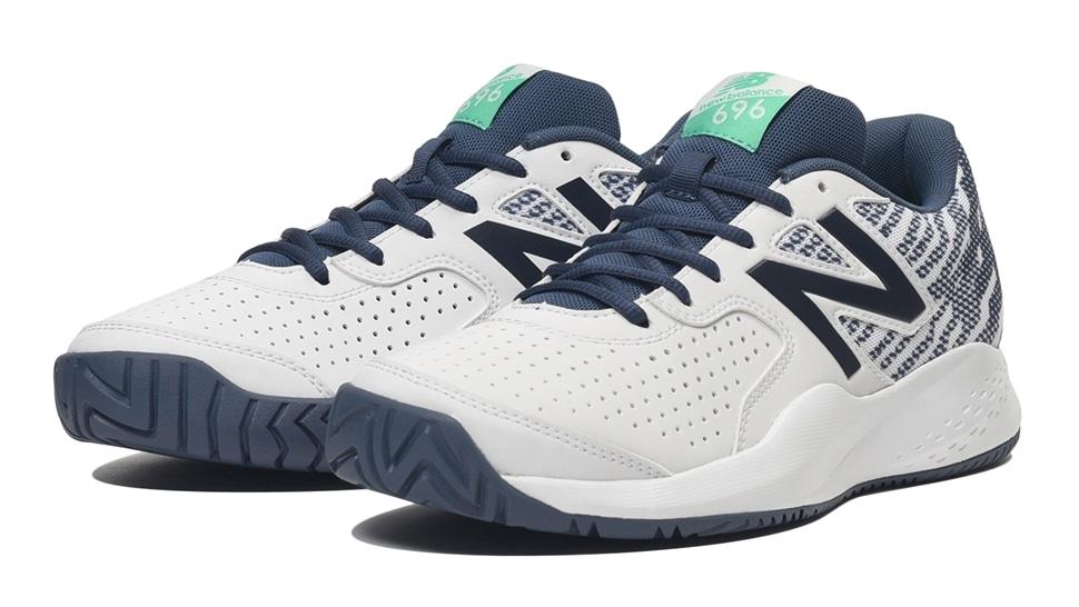 (NB公式アウトレット)【50%OFF】 メンズ MCH696 I3 (ホワイト) テニス オールコート用シューズ 靴 ニューバランス newbalance セール