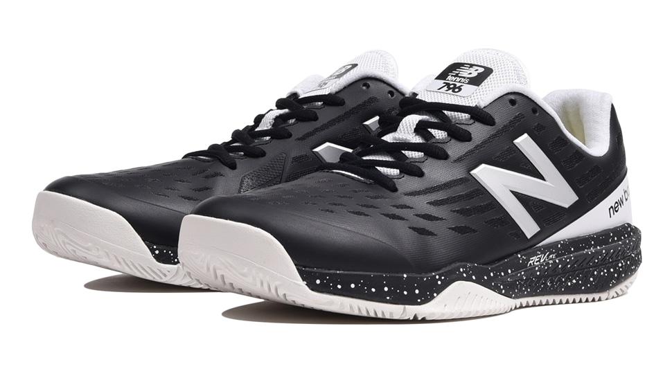 (NB公式アウトレット)【59%OFF】 メンズ MCH796 M1 (ブラック) テニス オールコート用シューズ 靴 ニューバランス newbalance セール