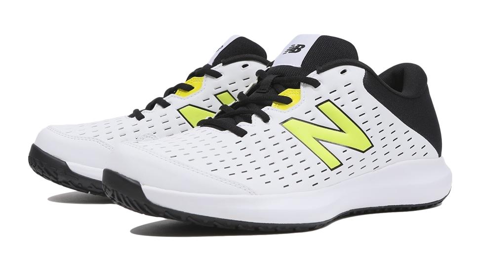 (NB公式アウトレット)【30%OFF】 メンズ MCO696 L4 (ホワイト) テニス オムニ・クレーコート用シューズ 靴 ニューバランス newbalance セール