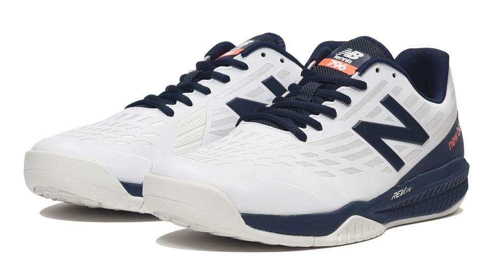(NB公式アウトレット)【59%OFF】 メンズ MCO796 K1 (ホワイト) テニス オムニ・クレーコート用シューズ 靴 ニューバランス newbalance セール