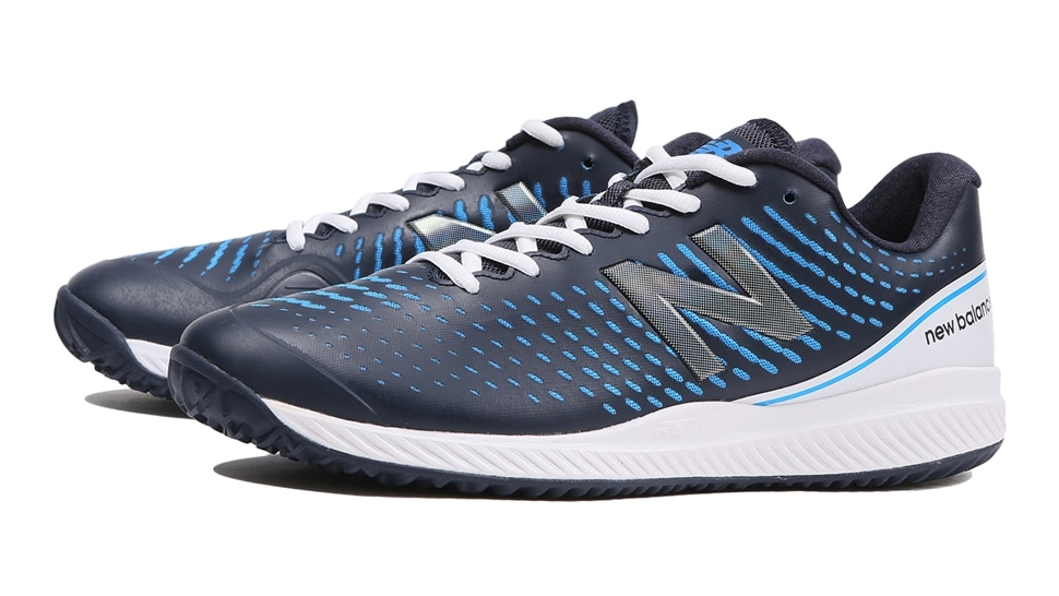 (NB公式アウトレット)【50%OFF】 メンズ MCO796 T2 (ブルー) テニス オムニ・クレーコート用シューズ 靴 ニューバランス newbalance セール