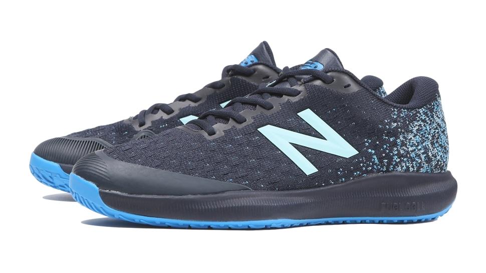 (NB公式アウトレット)【30%OFF】 メンズ FuelCell 996 O B4 (ブルー) テニス オムニ・クレーコート用シューズ 靴 ニューバランス newbalance セール