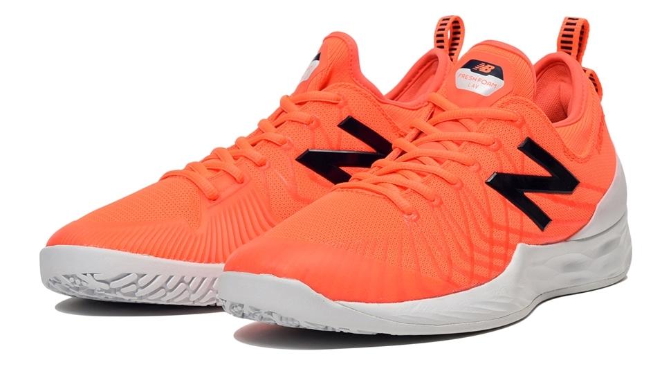 (NB公式アウトレット)【63%OFF】 ユニセックス FRESH FOAM LAV O HE (オレンジ) テニス オムニ・クレーコート用シューズ 靴 ニューバランス newbalance セール