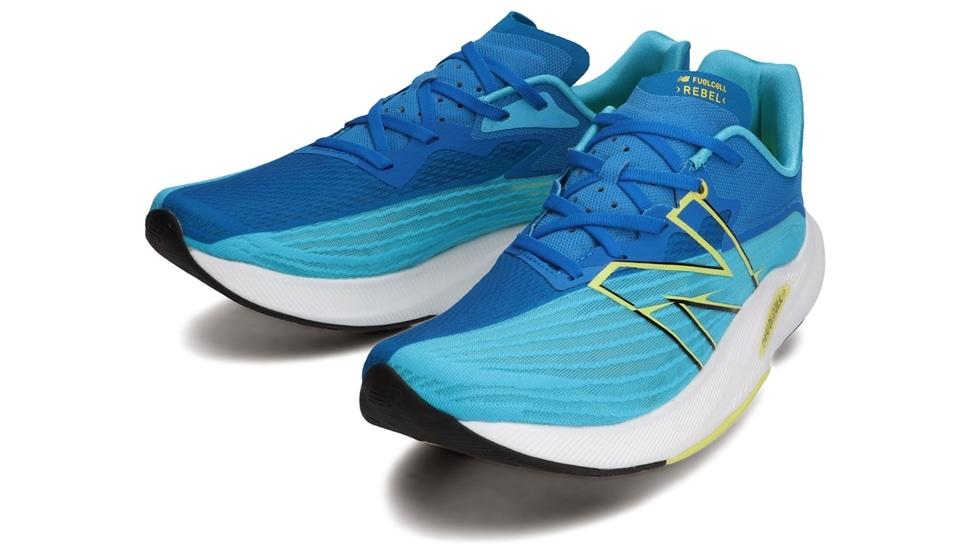 (NB公式アウトレット)【30%OFF】 メンズ FuelCell REBEL M LB2 (ブルー) ランニングシューズ 靴 ニューバランス newbalance セール