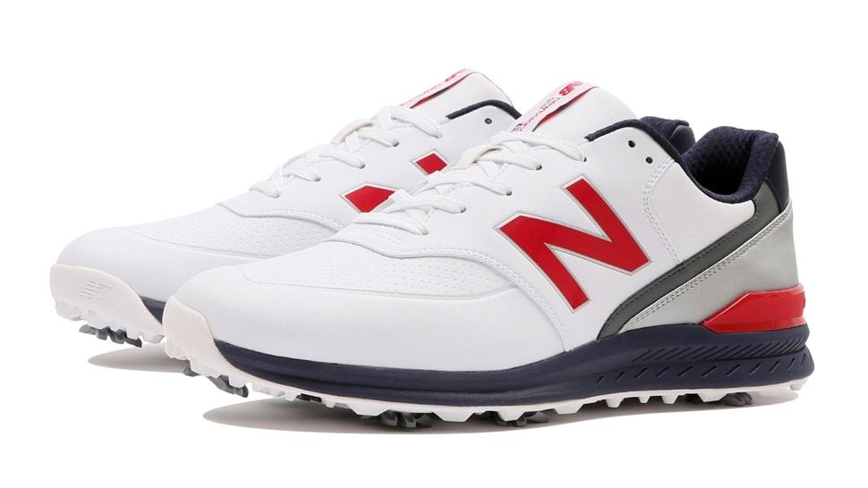 (NB公式アウトレット)【30%OFF】 メンズ MG996 TR2 (ホワイト) ゴルフ スパイク シューズ 靴 ニューバランス newbalance セール