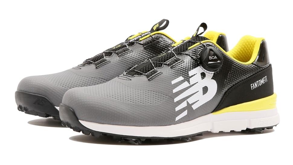 (NB公式アウトレット)【30%OFF】 メンズ MGBF574 G (グレー) ゴルフ スパイク シューズ 靴 ニューバランス newbalance セール