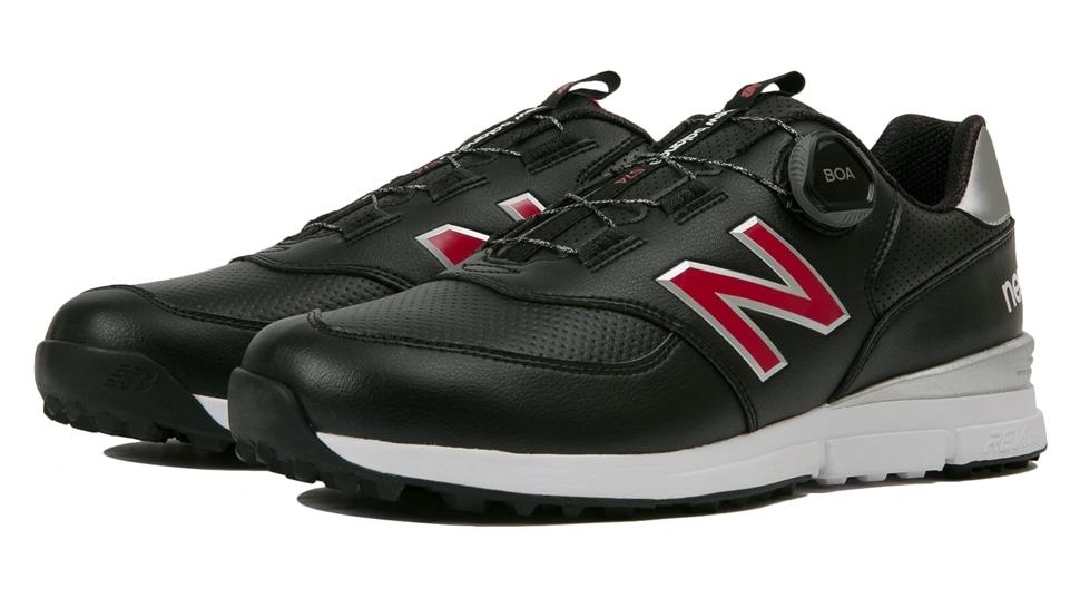 (NB公式アウトレット)【30%OFF】 メンズ MGBS574 B (ブラック) ゴルフ スパイクレス シューズ 靴 ニューバランス newbalance セール
