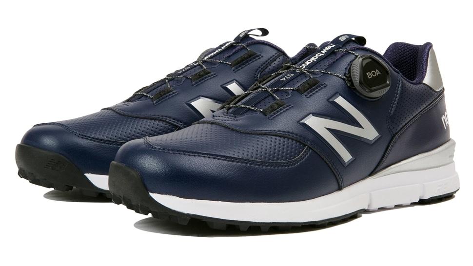 (NB公式アウトレット)【30%OFF】 メンズ MGBS574 N (ブルー) ゴルフ スパイクレス シューズ 靴 ニューバランス newbalance セール