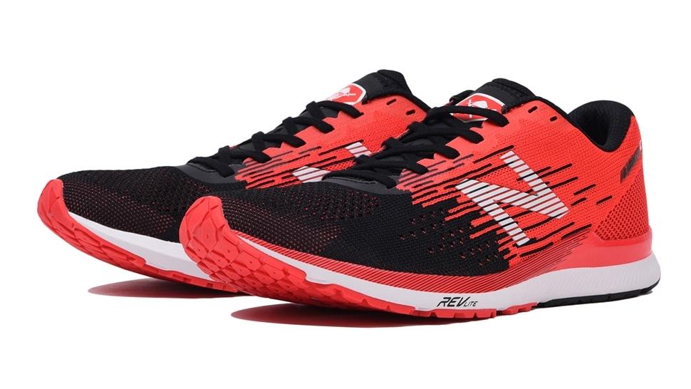 (NB公式アウトレット)【50%OFF】 メンズ NB HANZO C M B2 (ブラック) ランニングシューズ 靴 ニューバランス newbalance セール