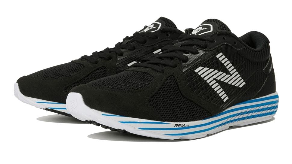 (NB公式アウトレット)【50%OFF】 ユニセックス NB HANZO R M F2 (ブラック) ランニングシューズ 靴 ニューバランス newbalance セール