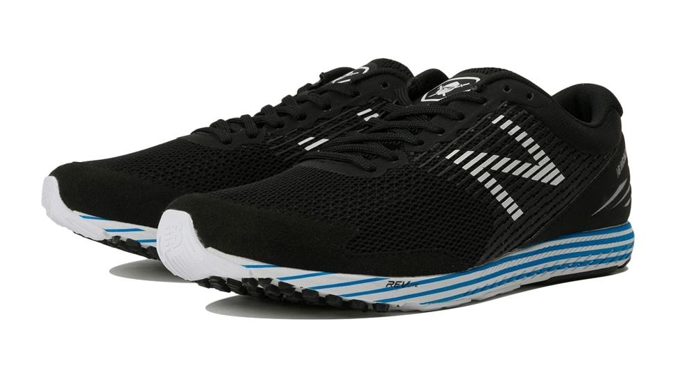 (NB公式アウトレット)【50%OFF】 ユニセックス NB HANZO S M F2 (ブラック) ランニングシューズ 靴 ニューバランス newbalance セール