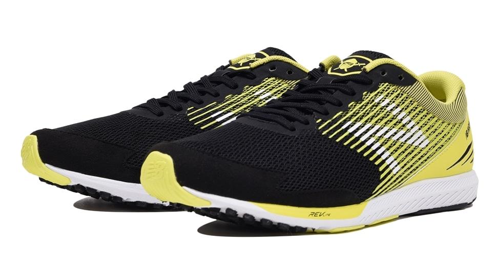 (NB公式アウトレット)【40%OFF】 メンズ NB HANZO S M L2 (イエロー) ランニングシューズ 靴 ニューバランス newbalance セール