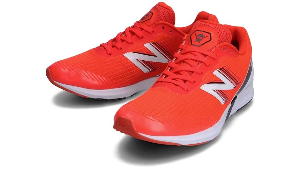 (NB公式アウトレット)【40%OFF】 ユニセックス NB HANZO T M N3 (レッド) ランニングシューズ 靴 ニューバランス newbalance セール