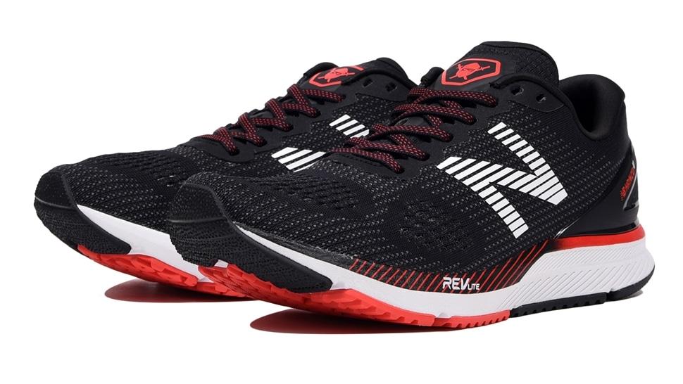 (NB公式アウトレット)【50%OFF】 メンズ NB HANZO U M B2 (ブラック) ランニングシューズ 靴 ニューバランス newbalance セール