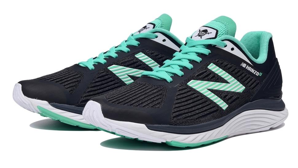 (NB公式アウトレット)【60%OFF】 メンズ NB HANZO U M E1 (グリーン) ランニングシューズ 靴 ニューバランス newbalance セール