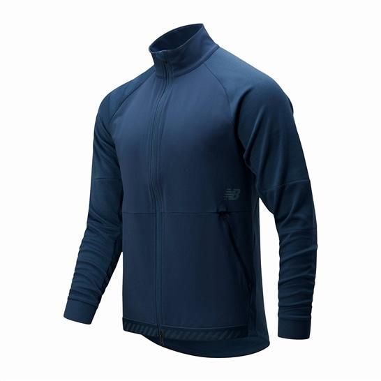 (NB公式アウトレット)【50%OFF】 メンズ Q SPEED ヒートジャケット(裏地なし) (グレー) ランニング スポーツウェア / ジャケット ニューバランス newbalance セール